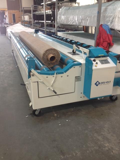 Accu Cut Target Carpet Cutting Machine