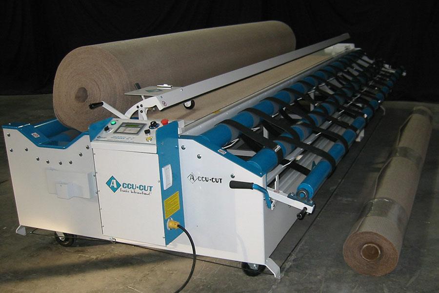 carpet cutting machine