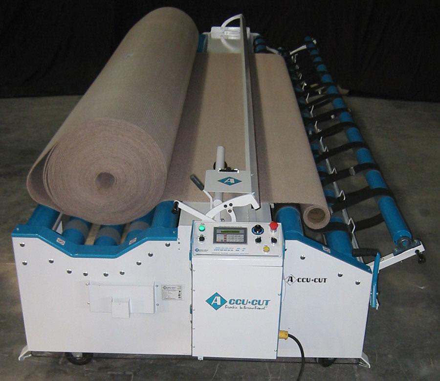 Accu Cut Q 7 Carpet Cutting Machine