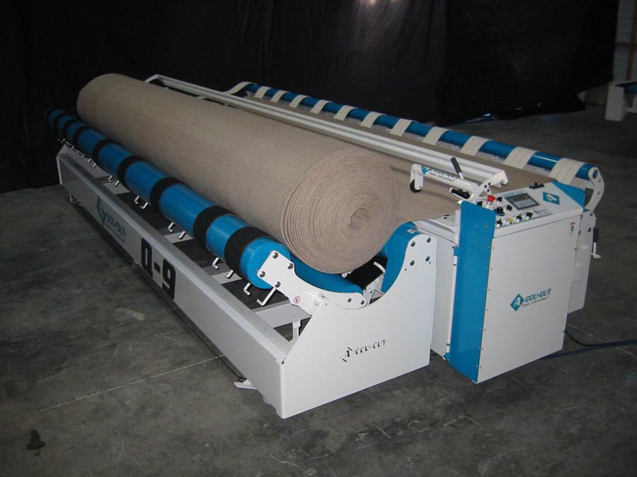 Accu Cut Q 9 Carpet Cutting Machine