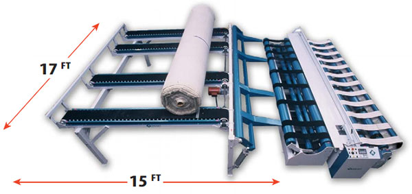 Feed Table - ACCU-CUT - Carpet Cutting Machines